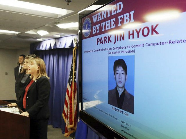 United States Attorney Tracy Wilkison announces a criminal complaint being filed against a North Korean national accused in a series of destructive cyberattacks around the world, at a news conference in Los Angeles Thursday, Sept. 6, 2018. The complaint alleges Park Jin Hyok, computer programmer accused of working at the …