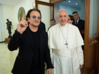Pope Welcomes U2's Bono Months After He Campaigned for Abortion in Ireland