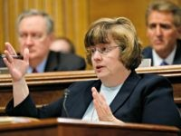 Phoenix prosecutor Rachel Mitchell asks questions to Christine Blasey Ford at the Senate Judiciary Committee hearing, Thursday, Sept. 17, 2018 on Capitol Hill in Washington. Phoenix prosecutor Rachel Mitchell asks questions to Christine Blasey Ford at the Senate Judiciary Committee hearing, Thursday, Sept. 17, 2018 on Capitol Hill in Washington.