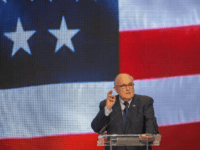 Latest appointee to President Donald Trump's legal team and former Mayor of New York City Rudy Giuliani speaks at the Conference on Iran on May 5, 2018 in Washington, DC. Over one thousand delegates from representing Iranian communities from forty states attends the Iran Freedom Convention for Human Rights and …