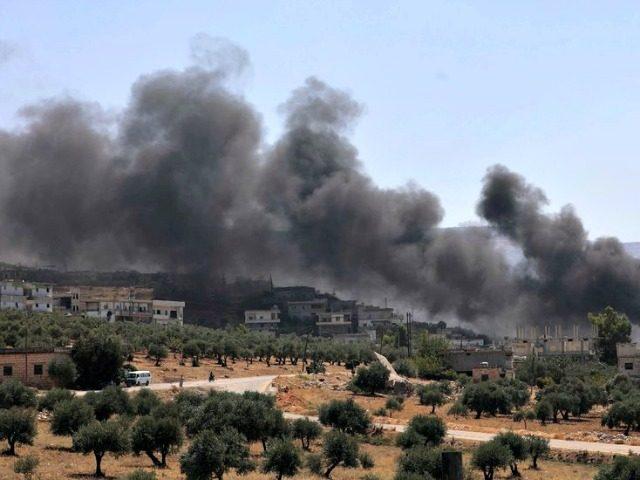 Russian Airstrikes on Idlib