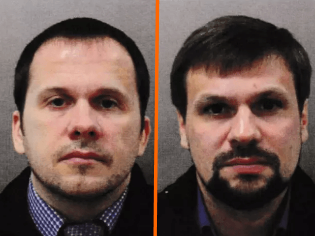 Salisbury attack suspects 'are members of Russian military intelligence'