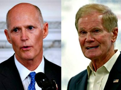Florida U.S. Senate Poll Reveals Republican Rick Scott Leading Democrat Bill Nelson