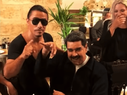 Videos: Venezuelan Dictator Nicolas Maduro Feasts at 'Salt Bae' Restaurant