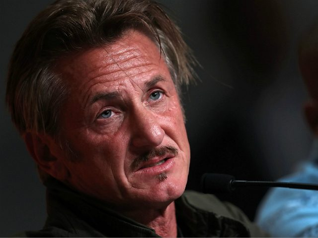 US actor and director Sean Penn talks on May 20, 2016 during a press conference for the film 'The Last Face' at the 69th Cannes Film Festival in Cannes, southern France. / AFP / Laurent EMMANUEL (Photo credit should read LAURENT EMMANUEL/AFP/Getty Images)