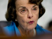 Sen. Dianne Feinstein, D-Calif., the ranking member on the Senate Judiciary Committee, questions President Donald Trump's Supreme Court nominee, Brett Kavanaugh, a federal appeals court judge, as he testifies before the Senate Judiciary Committee on Capitol Hill in Washington, Wednesday, Sept. 5, 2018, for the second day of his confirmation …