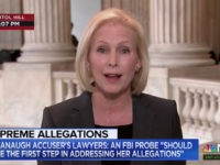 Gillibrand: 'Shameful' GOP Trying to 'Bully' Kavanaugh's Accuser