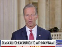 Thune: Democrats Attempting '11th Hour Ambush' on Kavanaugh