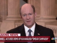 Sen. Coons Refuses to Say 'No' When Asked If Dems Would Impeach Kavanaugh After Confirmation