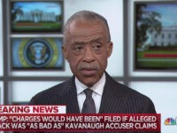 Sharpton: Trump's Tweet About Kavanaugh Accuser Put Confirmation in 'Jeopardy'
