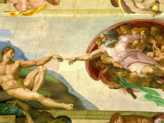 Sistine Chapel Creation of Adam