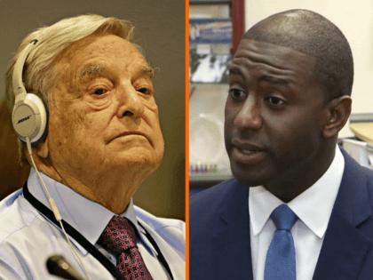 George Soros and Andrew Gillum