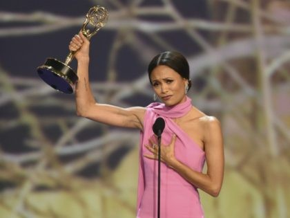 Actress Thandie Newton: 'I Don't Even Believe in God but I'm Gonna Thank Her Tonight'