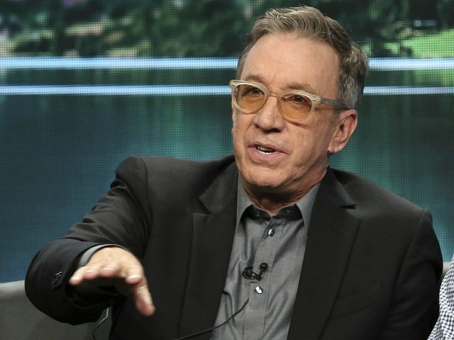 "Tim Allen participates in the ""Last Man Standing"" panel during the Fox Television Critics Association Summer Press Tour at The Beverly Hilton hotel on Thursday, Aug. 2, 2018, in Beverly Hills, Calif. (Photo by Willy Sanjuan/Invision/AP)"
