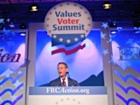 Family Research Council president Tony Perkins speaks to the 2018 Values Voters Summit in Washington, Friday, Sept. 21, 2018.