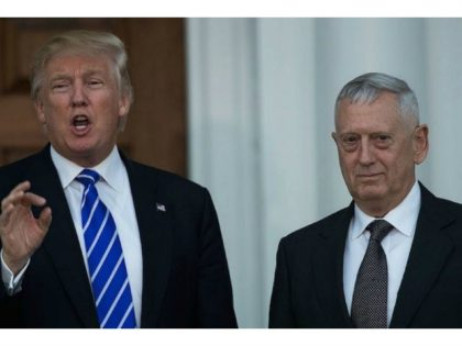 Trump, Mattis President-elect Donald Trump with retired Gen. James Mattis following their meeting at Trump International