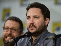 "Wil Wheaton speaks onstage during the ""The Big Bang Theory"" panel on Day 2 of Comic-Con on Friday, July 25, 2014, in San Diego. (Photo by Richard Shotwell/Invision/AP)"