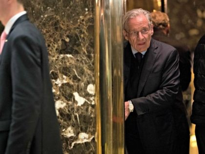 NEW YORK, NY - JANUARY 3: Journalist Bob Woodward arrives at Trump Tower, January 3, 2017 in New York City. President-elect Donald Trump and his transition team are in the process of filling cabinet and other high level positions for the new administration.