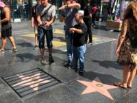 Vandal Places Prison Bars on Donald Trump's Hollywood Walk of Fame Star