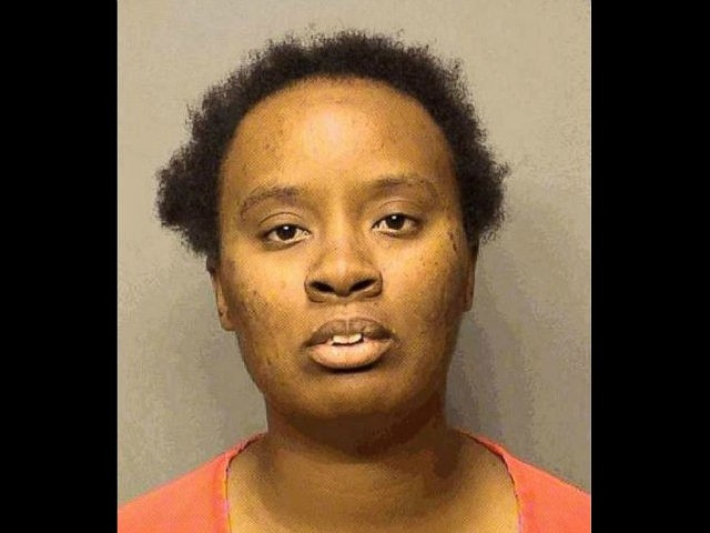 Authorities arrested Joandrea McAtee, 27, Friday and charged her with child neglect for allegedly allowing children as young as 11 years old to get behind the wheel of a school bus as the bus full of kids dropped off students