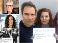 Celebs Join 'Walkout' in Solidarity with Christine Blasey Ford