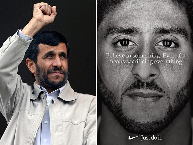 People are burning Nike because Colin Kaepernick fronts its new campaign