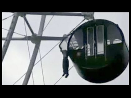 A five-year-old boy dangled 42 metres (138 feet) above the ground with his head stuck in the bars at the top of a Ferris wheel while Mid-Autumn Festival crowds looked on in horror at an amusement park in southeastern China on Monday. The child's mother had convinced staff to let …