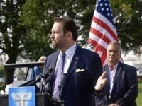 Dr. Sebastian Gorka speaks at Angel Families rally in D.C. alongside Kellyanne Conway, members of Congress, Sheriffs, and families who have lost loved ones to illegal alien crime