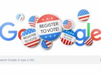 google doodle for Voter Registration
