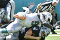 Dolphins Player Tore ACL Trying to Avoid Roughing the Passer Penalty
