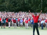 Tiger Woods Wins First PGA Tour Victory Since 2013