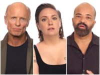HBO Stars Ed Harris, Lena Dunham, and More Stand in Silence in 'Rock the Vote' Video