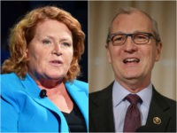 Heidi Heidkamp and Kevin Cramer