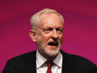 Labour Party leader, Jeremy Corbyn addresses delegates on day four of the Labour Party conference at the Arena and Convention Centre on September 26, 2018 in Liverpool, England. In his closing speech to the conference the Labour leader will promise to 'kickstart a green jobs revolution' and expand the provision …