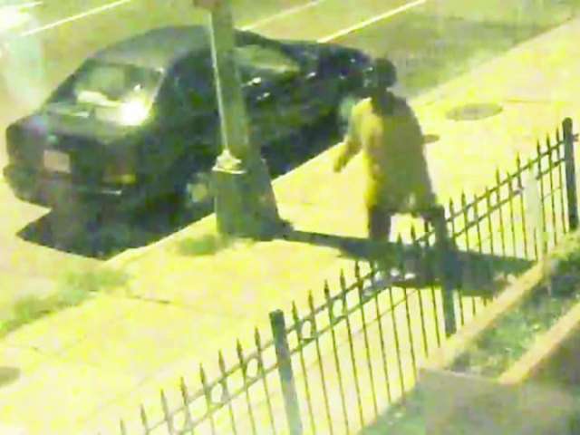 Surveillance video released by police of a person of interest in Wendy K. Martinez's Sept. 19 death