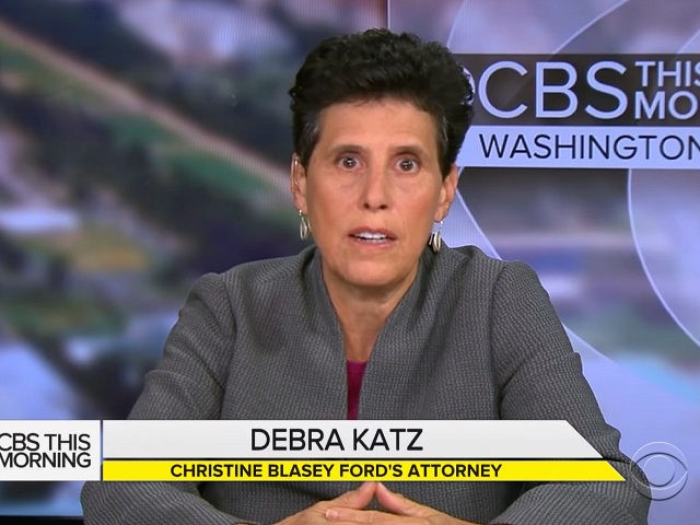 Debra Katz, the attorney hired by Christine Blasey Ford to represent her and her claim that Supreme Court nominee Brett Kavanaugh attacked her at a high school party three decades ago