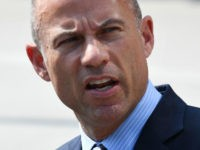 Michael Avenatti, the lawyer for adult film actress Stormy Daniels, speaks to the press after a court hearing at the United States Courthouse on July 27, 2018, in Los Angeles. - The court is considering a challenge by Daniels to a non-disclosure agreement over her claims of an affair with …