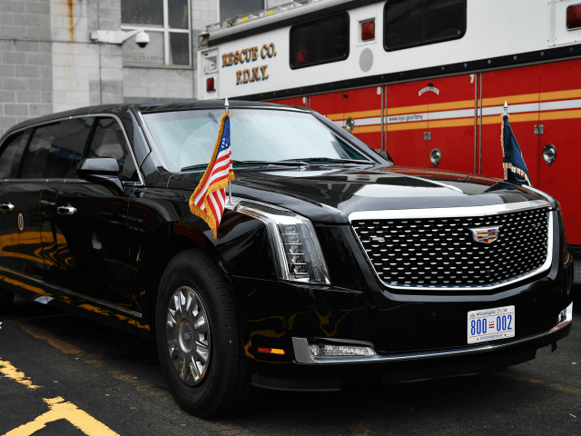 Donald Trump Unveils New Beast Presidential Limousine In
