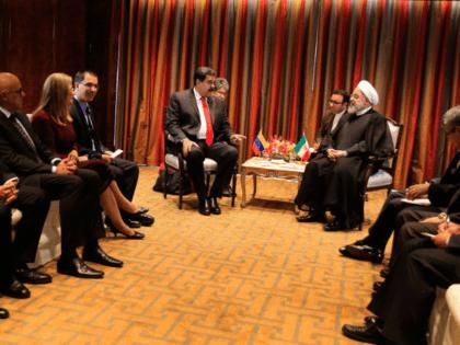 He sostenido una cálida reunión con nuestro hermano Presidente de la República Islámica de Irán, Hasán Rohaní. Acordamos afianzar nuestros lazos de amistad y cooperación en la defensa de un mundo multipolar como Garantía de Paz.