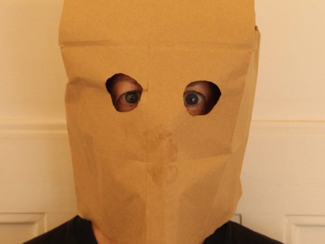 paper bag mask (Frank C. Müller / Wikimedia Commons)