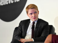 NEW YORK, NY - FEBRUARY 06: Contributor, The New Yorker Ronan Farrow speaks on stage at the American Magazine Media Conference 2018 on February 6, 2018 in New York City. (Photo by Ben Gabbe/Getty Images for The Association of Magazine Media)