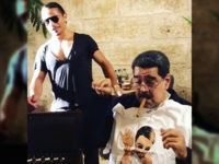 """Salt Bae,"" whose real name is Nusret Gökçe,"" posted videos showing him carving meat in front of Nicolas Maduro."