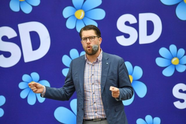 Sweden Democrats party leader Jimmie Akesson is poised to see his far-right party make the biggest gains in general elections on September 9.