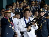 Philippine President Rodrigo Duterte is eyeing Israeli military hardware