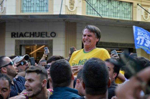 Knife attack set to boost Bolsonaro's Brazil presidential bid