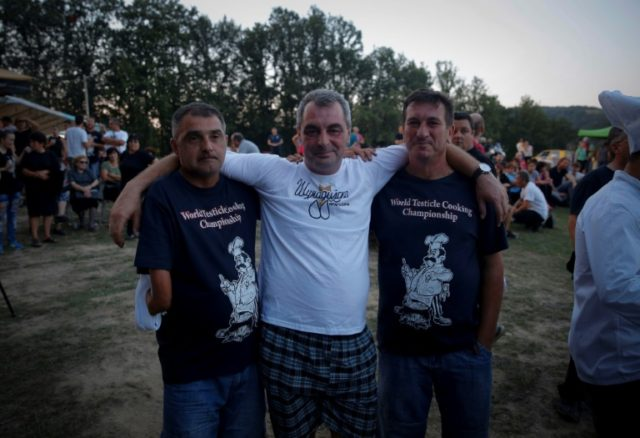 Serbian chefs triumph at 'World Testicle Cooking Championship'
