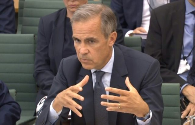 Carney is the first non Briton to hold the post of BoE governor