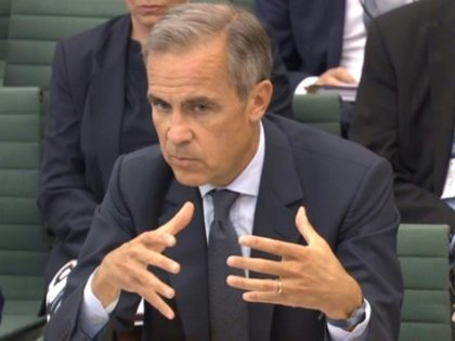 Carney is the first non-Briton to hold the post of BoE governor