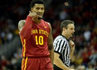 Darrell Bowie, pictured during his time with the Iowa State Cyclones in 2017, underwent surgery for stabbing wounds