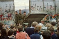 The Berlin Wall came down in November 1989
